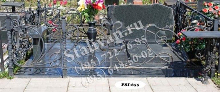 Ограды на могилы 3