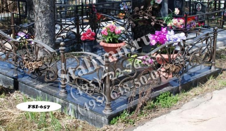 Ограды на могилы 5