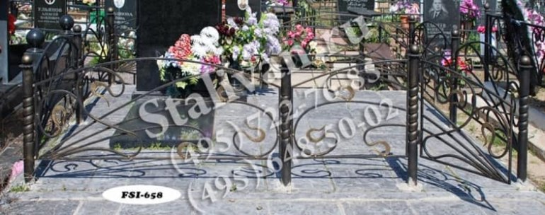 Ограды на могилы 7