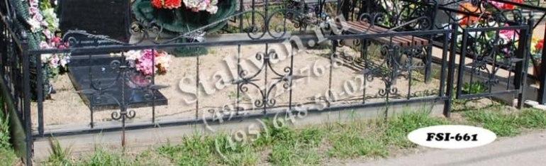 Ограды на могилы 10