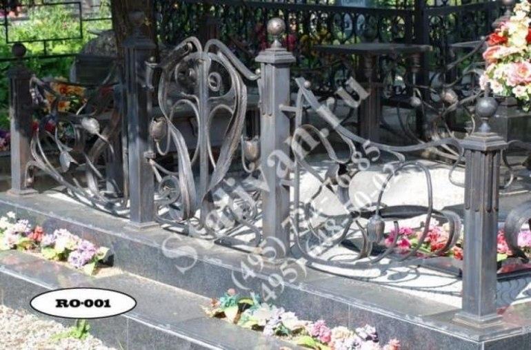Ограды на могилы 16