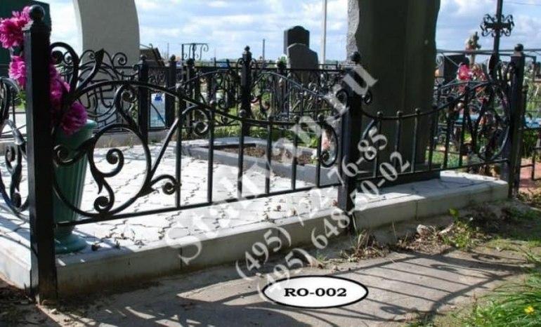 Ограды на могилы 17