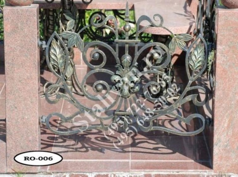 Ограды на могилы 21