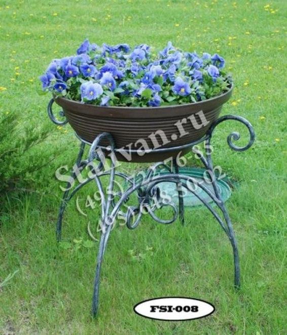 Подставки под цветы 4