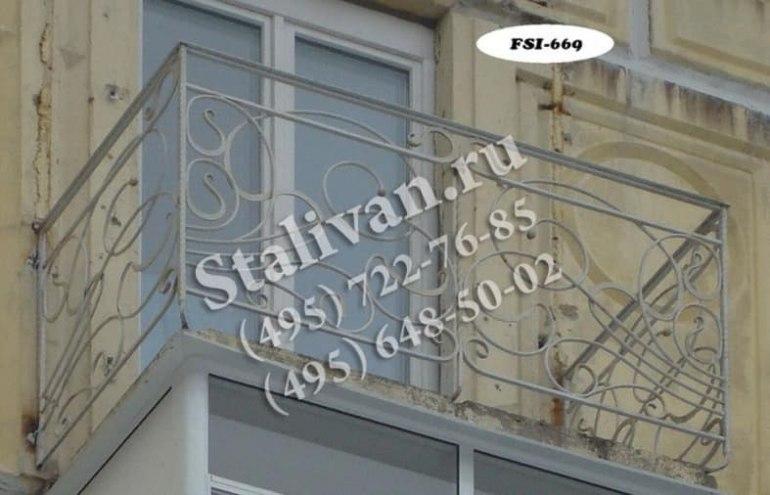 Балконные ограждения 11