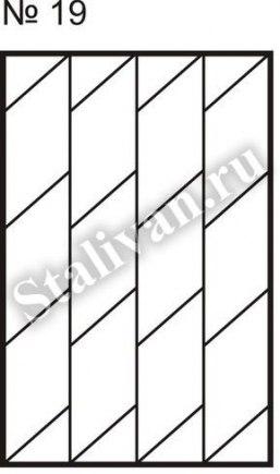 Сварная оконная решетка SRO-019 - фото 1