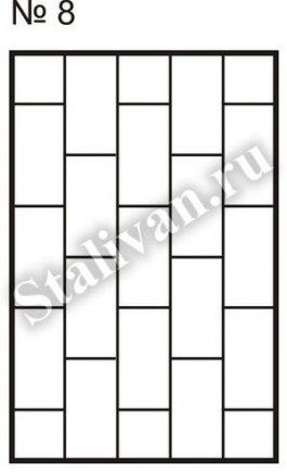 Решетка на окно сварная SRO-008 - фото 1