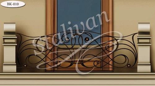 Кованое ограждение для балкона BK-010 - фото 1