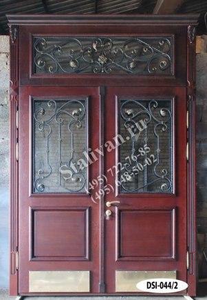 Входная дверь DSI-044/2 с ковкой - фото 1