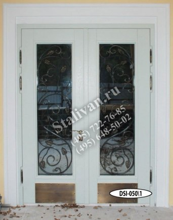 Входная дверь DSI-050/1 с ковкой - фото 1