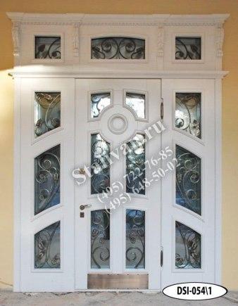 Входная дверь DSI-054/1 с ковкой - фото 1