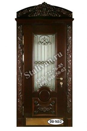 Входная дверь DSI-163/2 с ковкой - фото 1