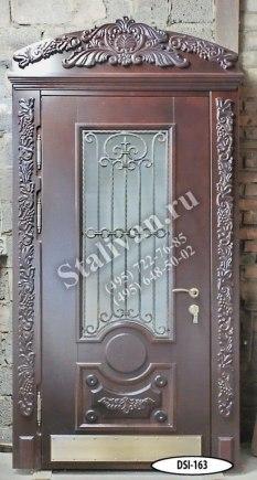 Входная дверь DSI-163/1 с ковкой - фото 1