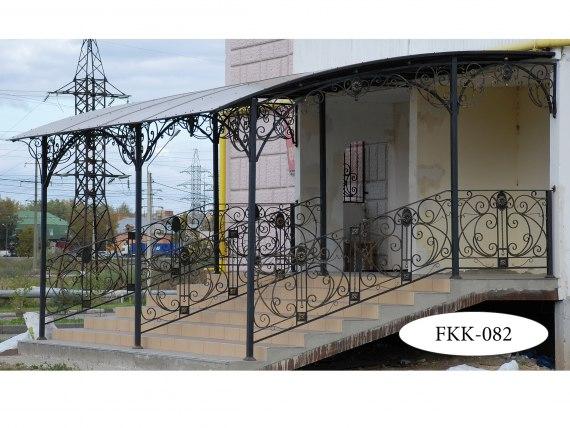 Навес кованый односкатный FKK-082-1 - фото 3