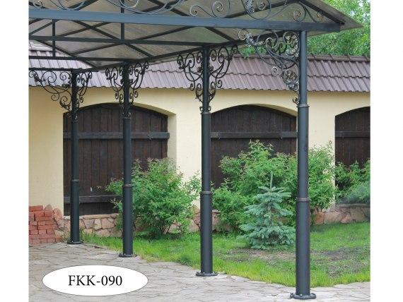 Арочный навес с ковкой FKK-090-1 - фото 2