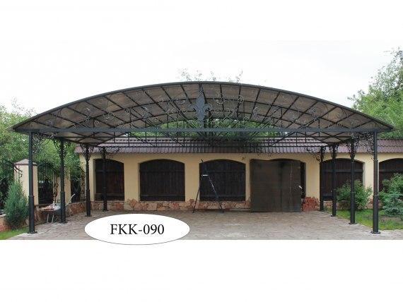 Арочный навес с ковкой FKK-090-1 - фото 1