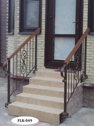 Перила (лестничные ограждения) FLK-049 - фото 2