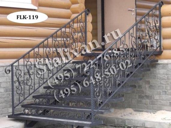 Каркас лестницы FLK-119 (ковка) - фото 1