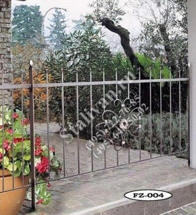 Ограда с художественной ковкой FZ-004 - фото 1
