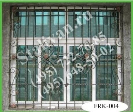 Кованая решетка FRK-004 - фото 1