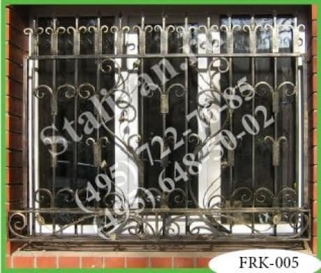 Кованая решетка FRK-005 - фото 1