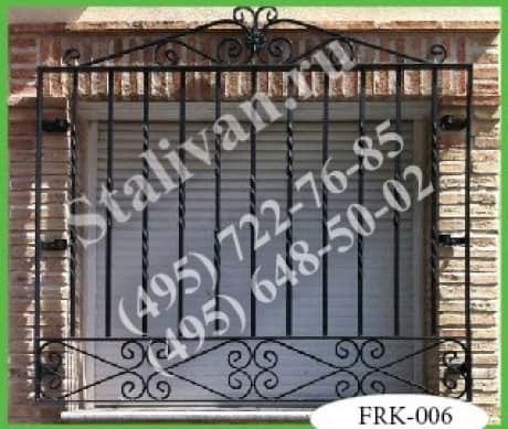 Кованая решетка FRK-006 - фото 1