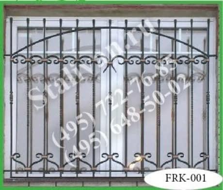 Кованая решетка FRK-001 - фото 1
