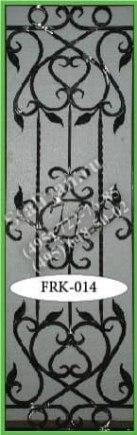 Кованая решетка FRK-014 - фото 1