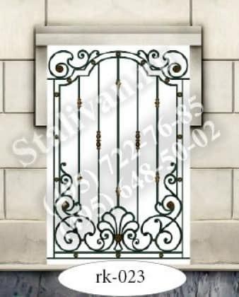 Кованая решетка на окно RK-023 - фото 1