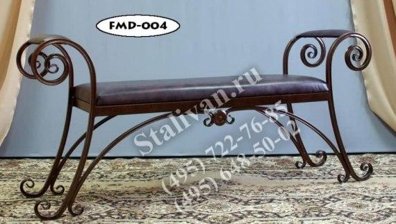 Кушетка с ковкой FMD-004 - фото 1