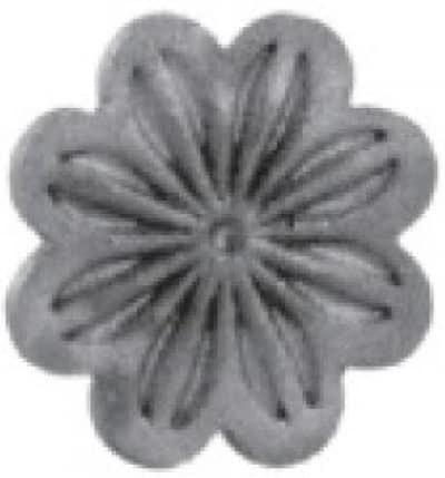 Цветок литой арт. 19445 - фото 1