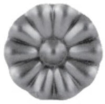 Цветок штамп. арт. 19-1040 - фото 1