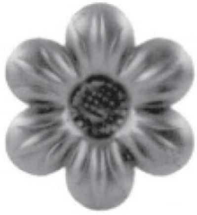 Цветок штамп. арт. 19-1084 - фото 1