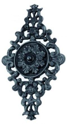 Декоративная чугунная накладка ромб арт. 19420 - фото 1