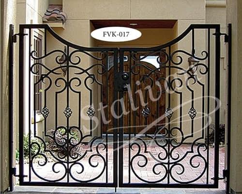 Ворота с ковкой FVK-017 - фото 1
