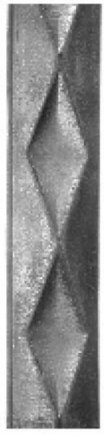 Декоративная полоса кованая 32х9-23 - фото 1