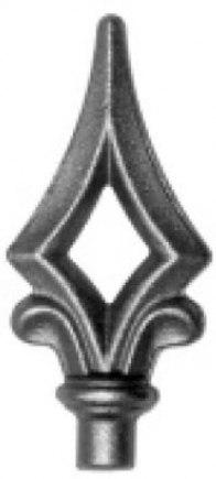 Кованое навершие-пика Арт. 16965/2 - фото 1