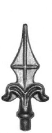 Кованое навершие-пика Арт. 12958/1 - фото 1