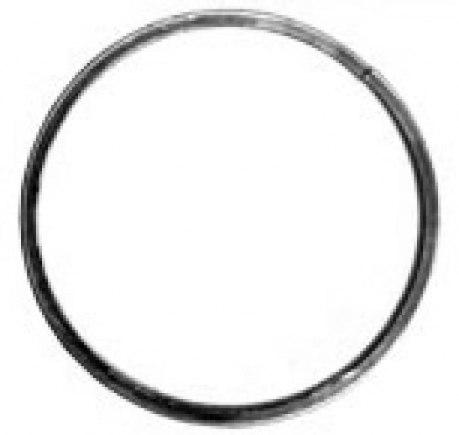 Кованое кольцо 12х6 гл - 100 мм - фото 1
