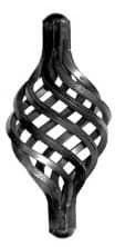 Кованый элемент корзинка арт. 04-12/3 - фото 1