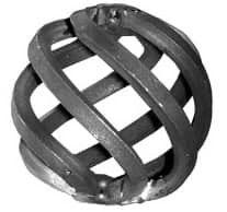 Кованая корзинка Арт. 06-121/3 - фото 1
