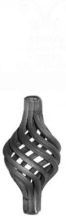 Кованый элемент корзинка арт. 07-21/3 - фото 1
