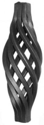 Кованая корзинка арт. 10-30/3 - фото 1