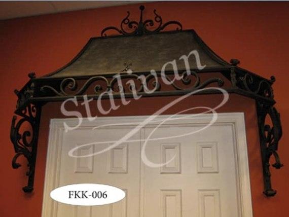 Козырек с ковкой FKK-006 - фото 1