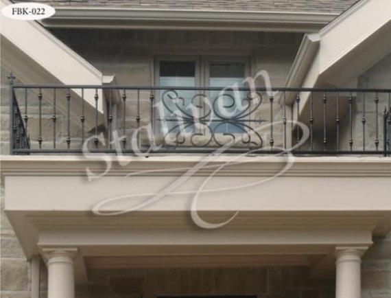 Кованое ограждение балкона FBK-022 - фото 1