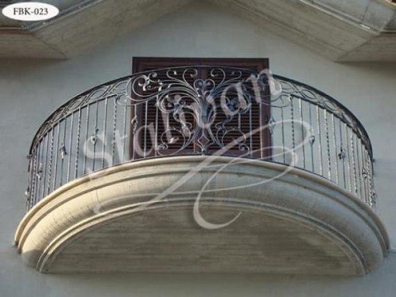 Балкон с ковкой FBK-023 - фото 1