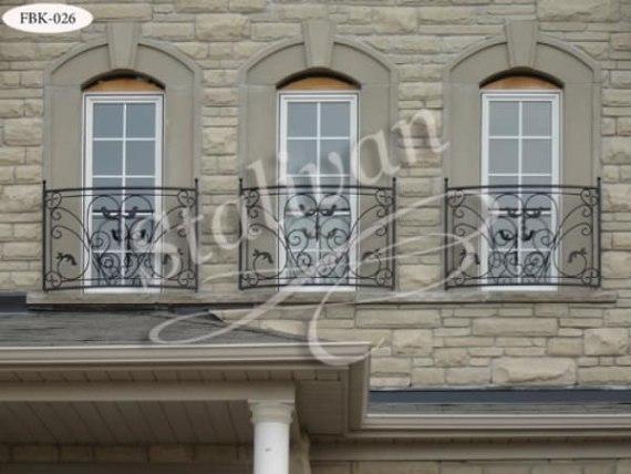 Балкон с ковкой FBK-026 - фото 1