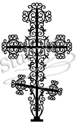 Кованый крест 4 - фото 1