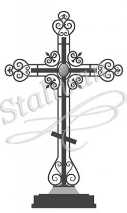 Кованый крест 5 - фото 1