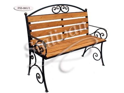 Скамейка с ковкой FSS-061/1 - фото 1